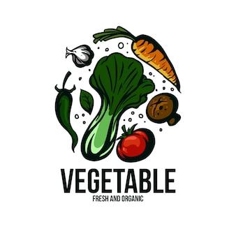 Illustration de légumes