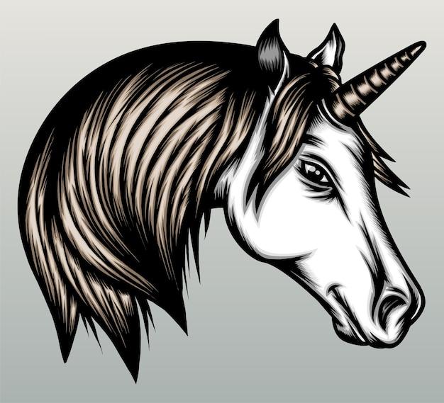 Illustration d'une licorne.