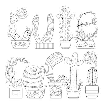 Illustration de livre de coloriage