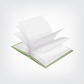 Illustration de livre, concept élégant de conception graphique