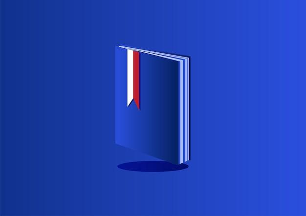 Illustration de livre isométrique vecteur gratuit