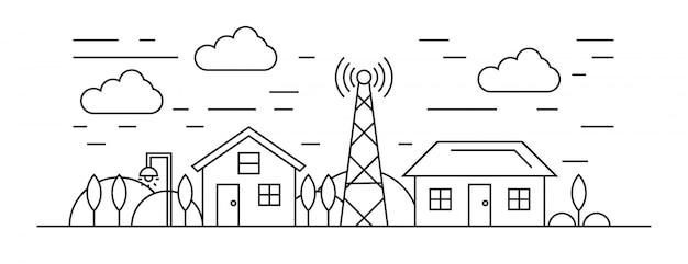 Illustration logement et environnement