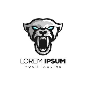 Illustration de logo puma