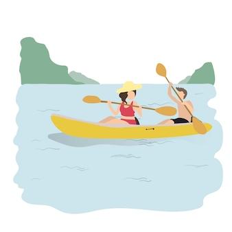 Illustration des loisirs et des activités humaines