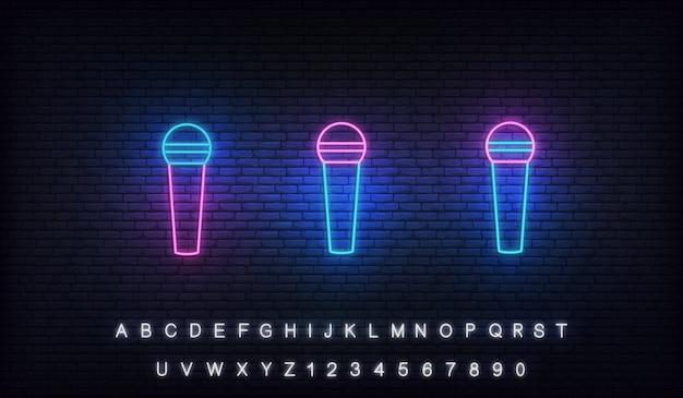 Illustration de lumière au néon