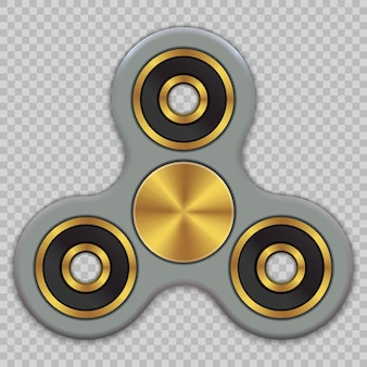 Illustration de main spinner fidget