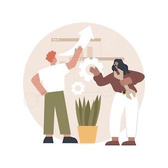 Illustration de la maintenance du site web