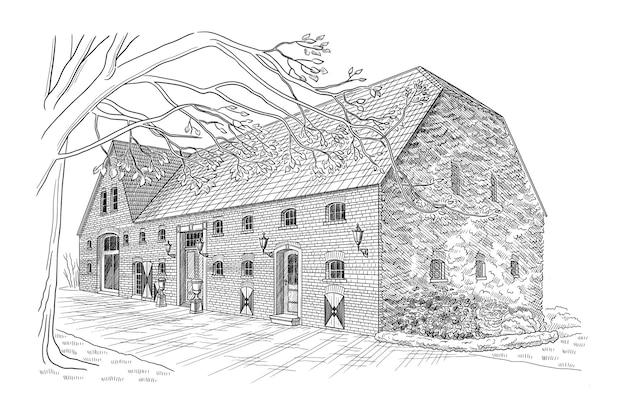 Illustration de la maison élégante