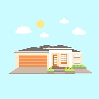 Illustration de la maison urbaine