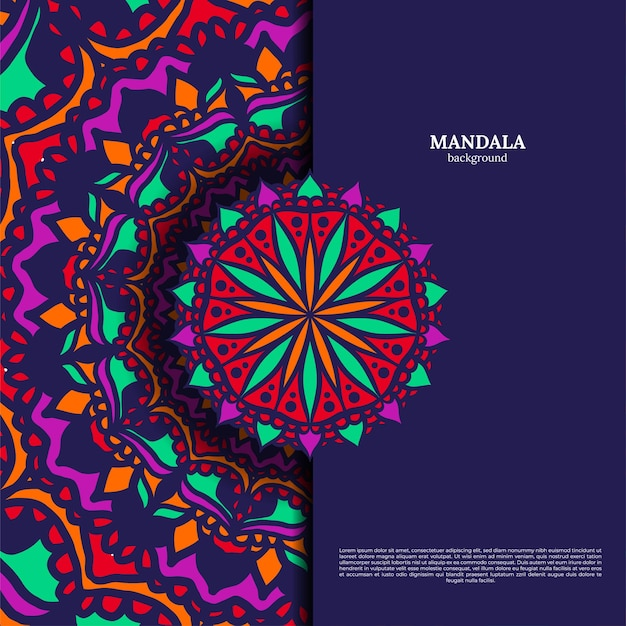 Illustration de mandala