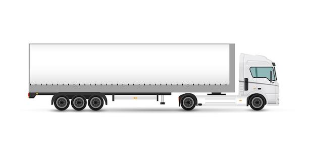 Illustration de marque de remorque de camion