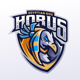 Illustration de mascotte horus