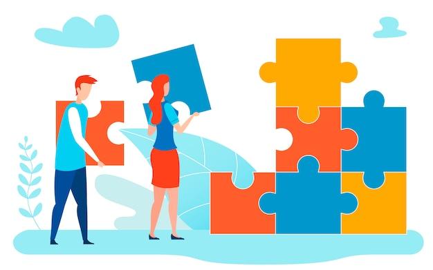 Illustration de la métaphore de la résolution collective de problèmes