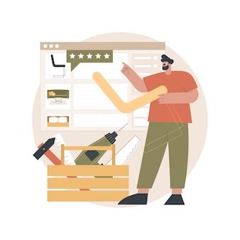 Illustration de meubles sur mesure