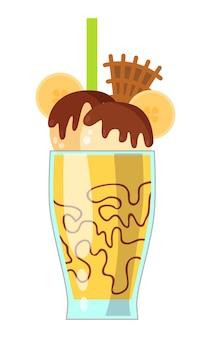 Illustration de milkshake