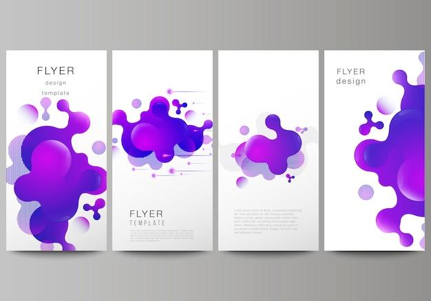 L'illustration minimaliste de la mise en page modifiable du flyer