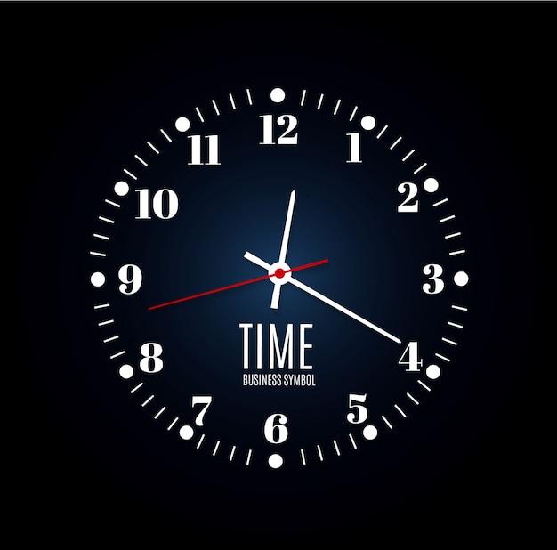 Illustration de minuterie d'horloge