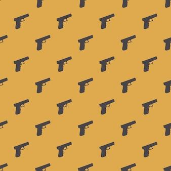 Illustration de modèle d'armes à feu. image de style creativea et luxe