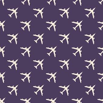 Illustration de modèle d'avion. image de style créatif et militaire