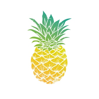 L'illustration moderne d'ananas