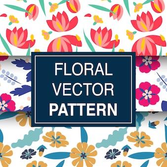 Illustration de motif floral