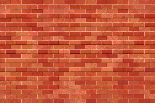 Illustration de mur de briques.