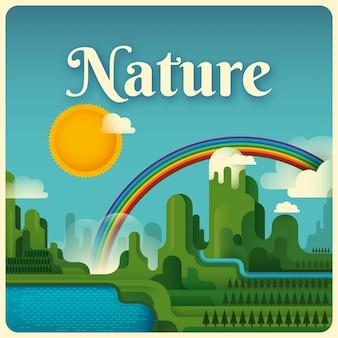 Illustration de la nature