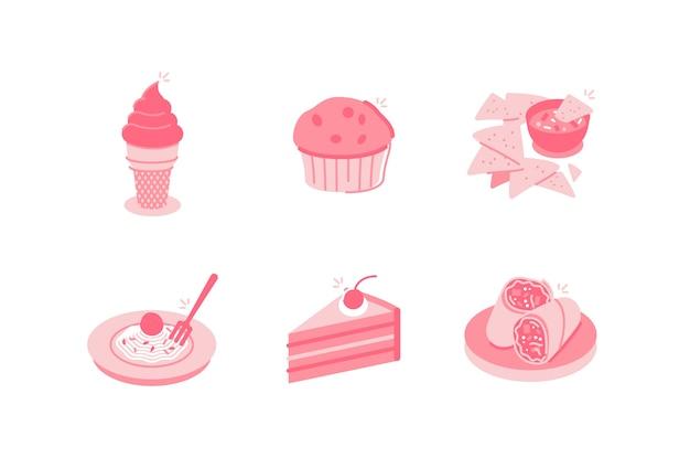 Illustration de nourriture et de boissons