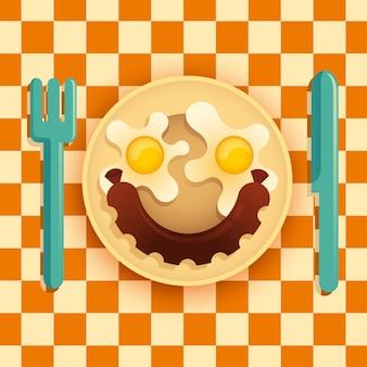 Illustration de la nourriture