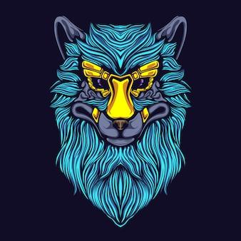 Illustration de l'oeuvre de loup