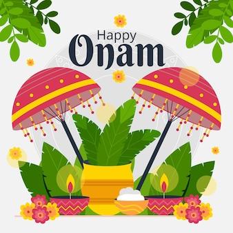 Illustration d'onam