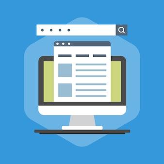 Illustration de l'optimisation des moteurs de recherche