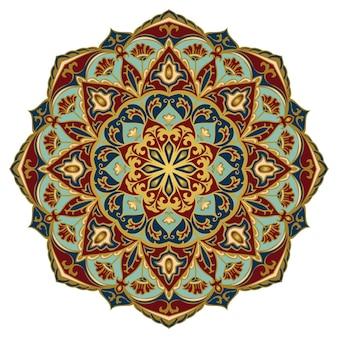 Illustration d'ornement élégant oriental