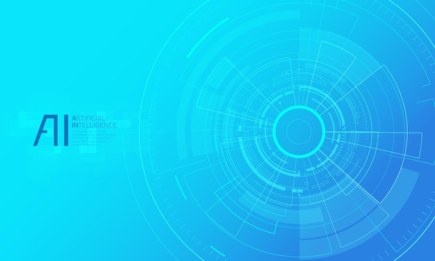 Illustration de la page de destination de l'intelligence artificielle