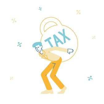 Illustration de paiement de prêt