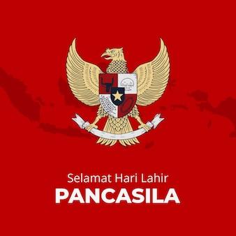 Illustration de pancasila