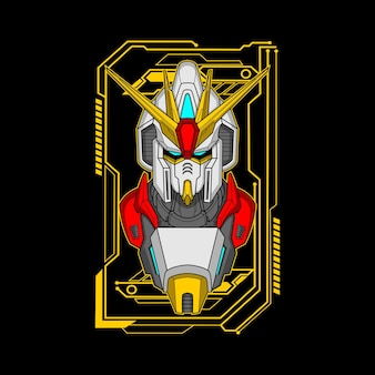 Illustration de partie de robot gardien