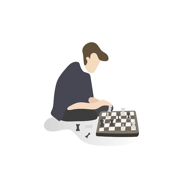 Illustration de passe-temps et d'activités humaines