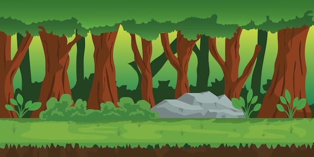 Illustration de paysage naturel