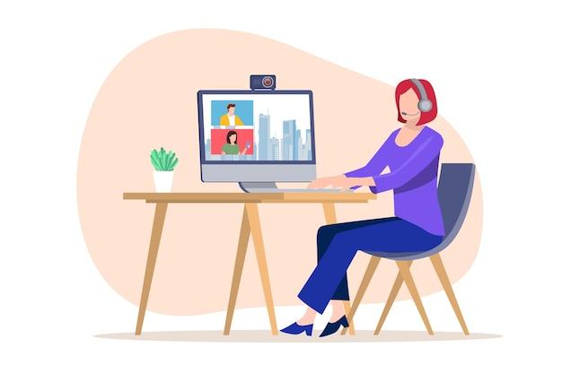 Illustration d'une personne diffusant un événement en direct