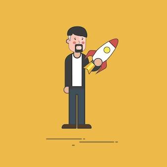 Illustration de personnes avatar