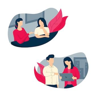 Illustration de personnes