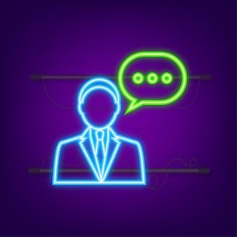 Illustration plate avec service client illustration vectorielle 3d service de support client