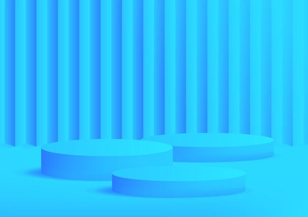 Illustration de podium moderne