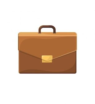 Illustration de porte-documents d'affaires dans un style plat