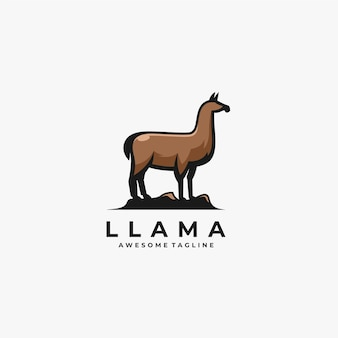 Illustration de pose de lama.