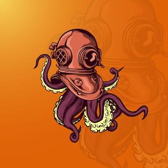Illustration de poulpe