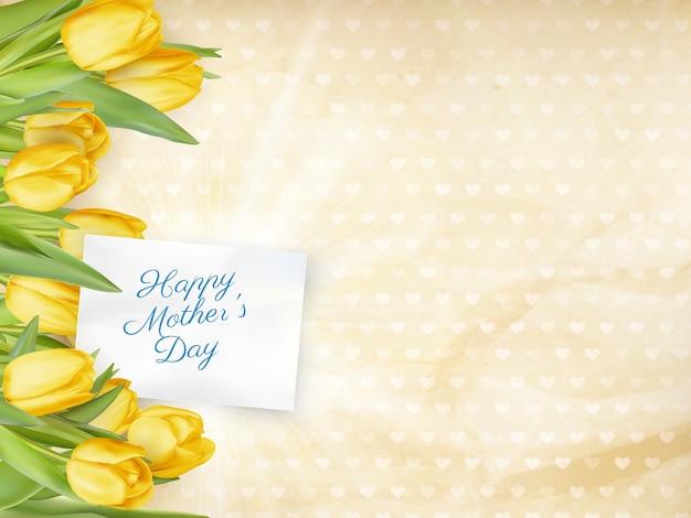 Illustration pour la fête des mères.