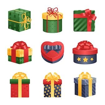 Illustration présente de boîte-cadeau.