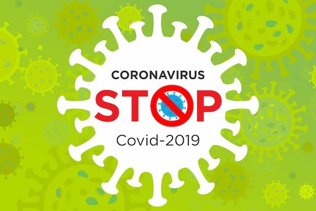 Illustration de la prévention et des symptômes de la maladie à coronavirus